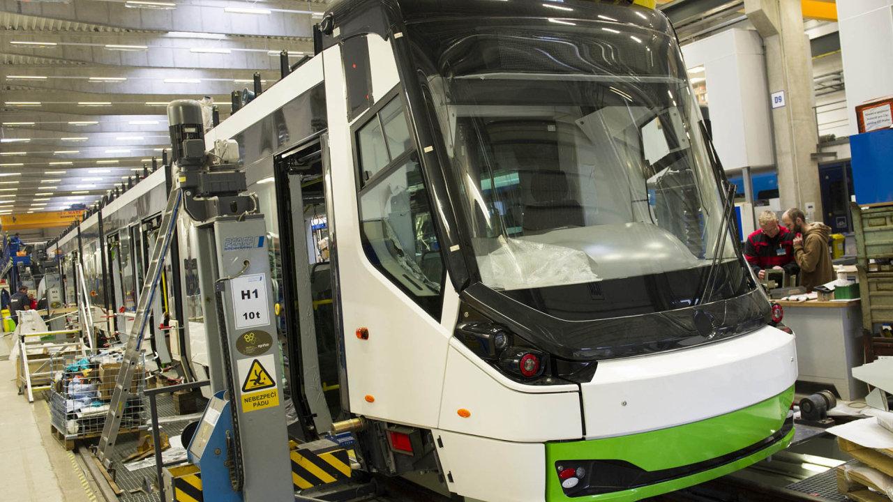 Škoda Transportation - výroba