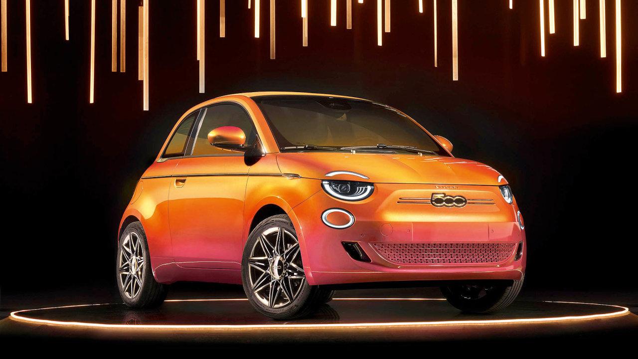 Nový Fiat B.500 je vůbec první elektromobil této řady.