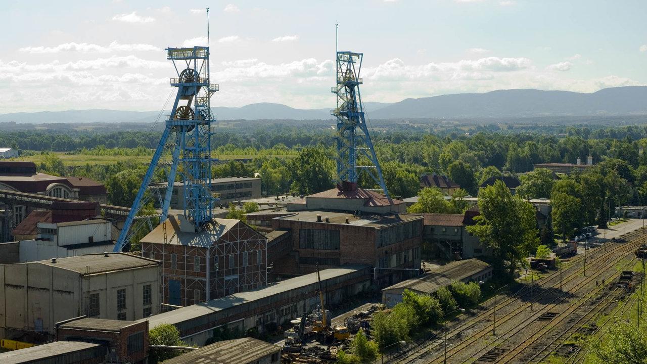 Areál uhelného dolu PG Silesia v Polsku.
