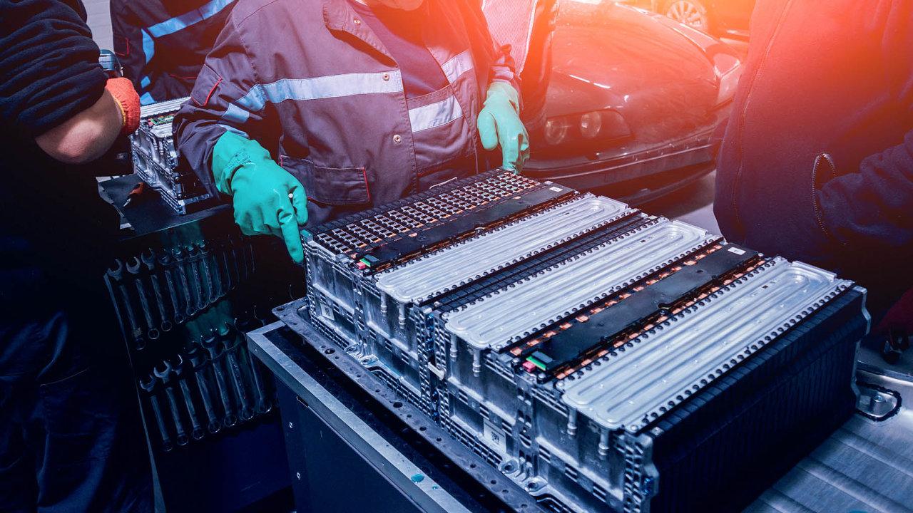 QuantumScape se zaměřuje na inovace ve výrobě baterií pro elektromobily (ilustrační snímek).