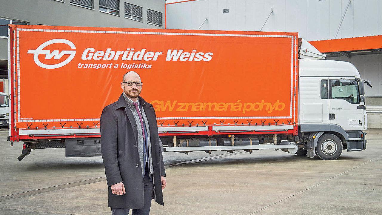 Ředitel obchodu amarketingu společnosti Gebrüder Weiss Česká republika Jan Kodada