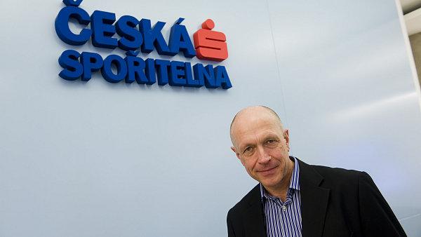 Generální ředitel České pořitelny Pavel Kysilka.