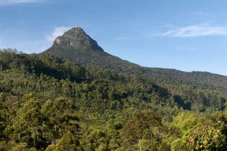 Adam�v vrch, Sr� Lanka