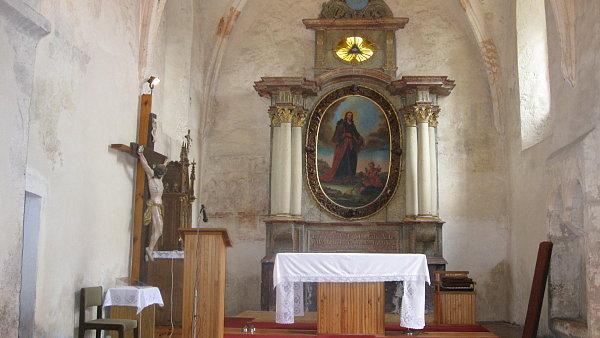 Ilustra�n� foto: Rom�nsk� kostel sv. Jakuba V�t��ho v Te�ovic�ch (Zl�nsk� kraj).