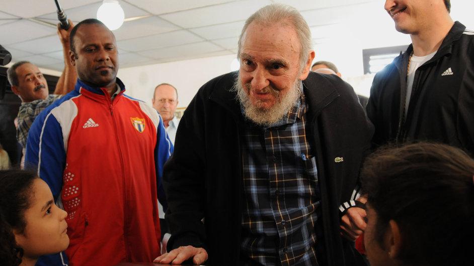 Fidel Castro volil v Havaně