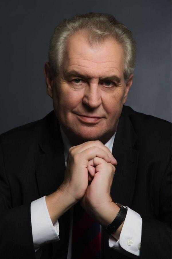 Oficiální portrét Miloše Zemana