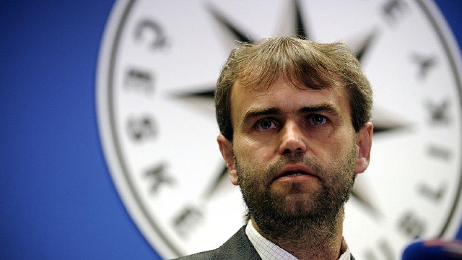 Ředitel policejního Útvaru pro odhalování organizovaného zločinu Robert Šlachta