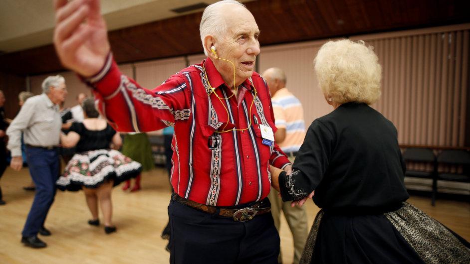 Prosperující americké městečko plné důchodců.