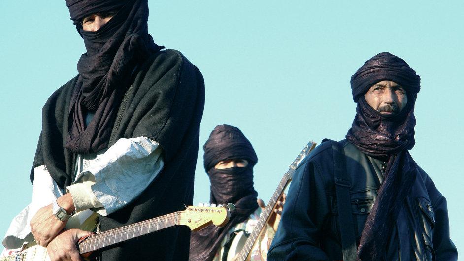 Tuarežská skupina Terakaft bude hlavními hvězdami červnového festivalu world music Respect na Štvanici.