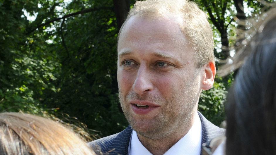 Ministr životního prostředí Tomáš Podivínský