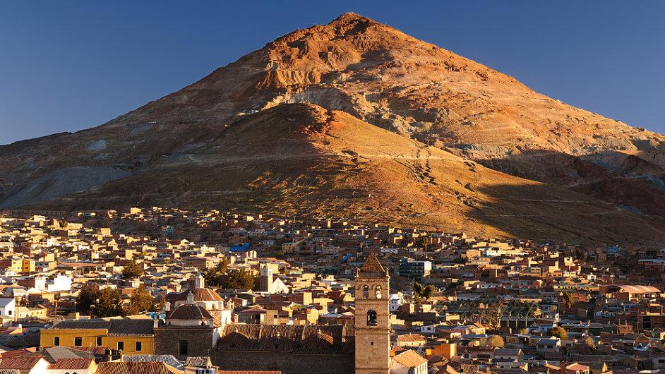 Historii bolivijského Potosí psala stříbrná ruda.