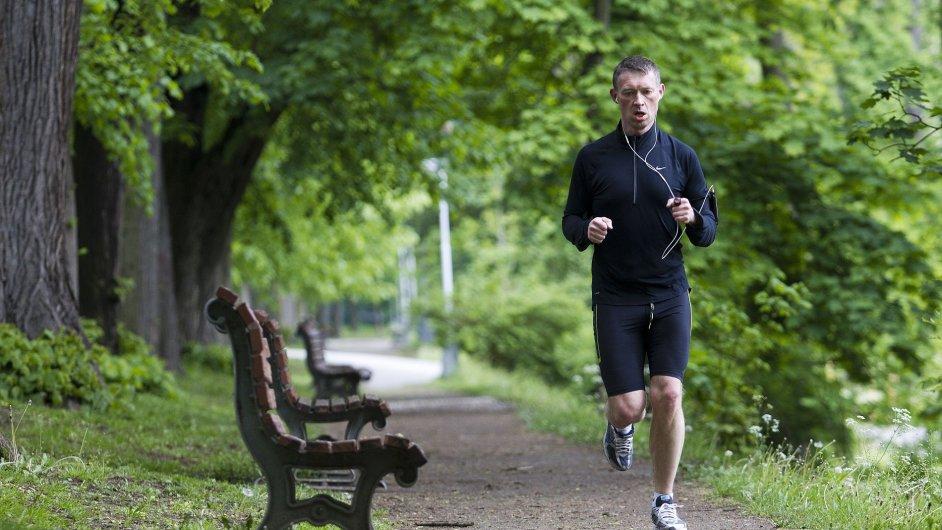 Běžec ve Stromovce