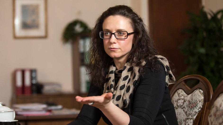 Simona Hornochová, náměstkyně ministerstva financí
