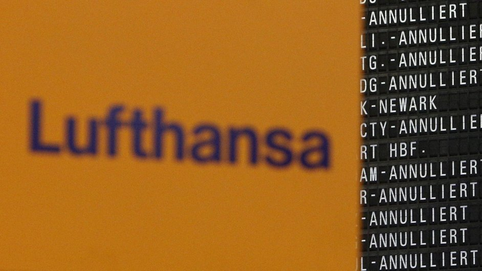 Lufthansa ruší celkem 3800 letů