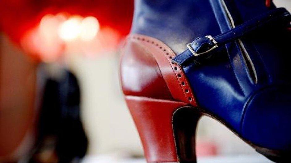 Boty od Clairvoy má na nohou téměř každá tanečnice v Moulin Rouge