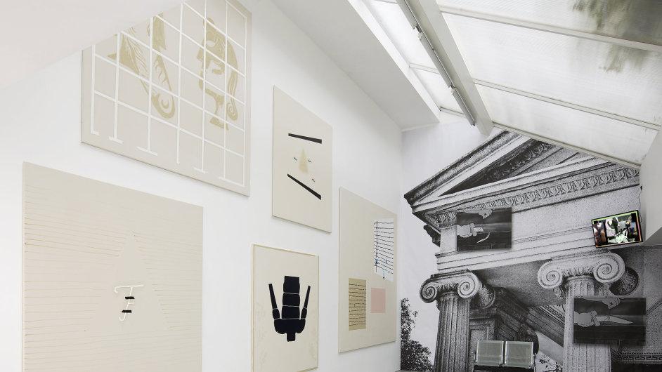 Snímky z výstavy Jiří David, Andy Hope 1930, Florian Meisenberg