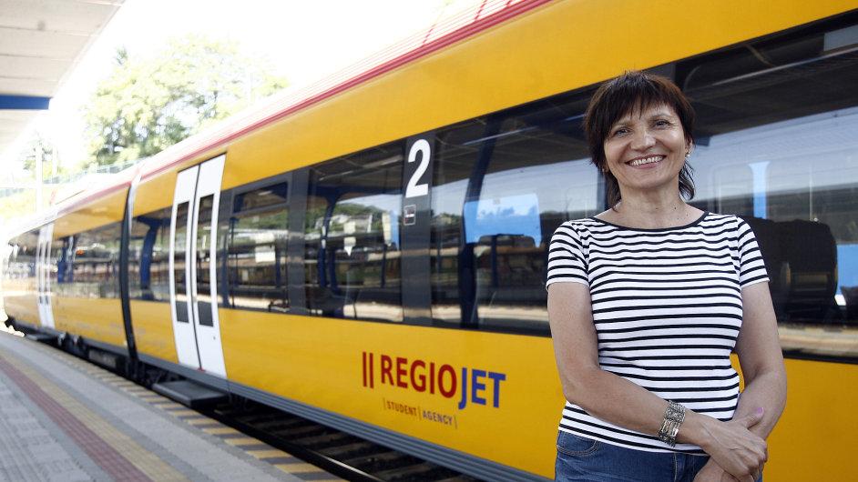 Manažerka zákaznického servisu RegioJet Slovensko Alena Hržičová