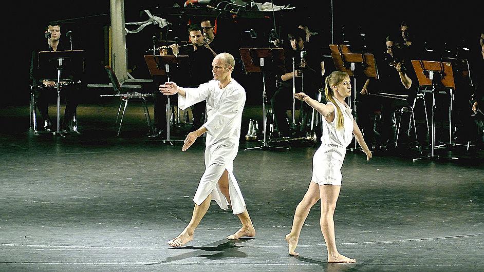 Choreograf Daniel Squire na loňském ročníku Ostravských dnů nové hudby