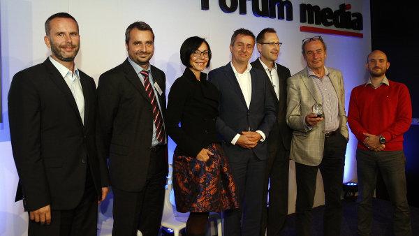 Konference Forum media 2014, na snímku šéfové českých mediálních domů