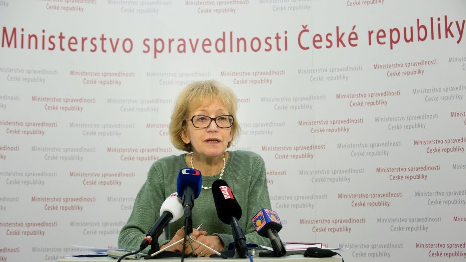 Ministryně spravedlnosti Hana Válková