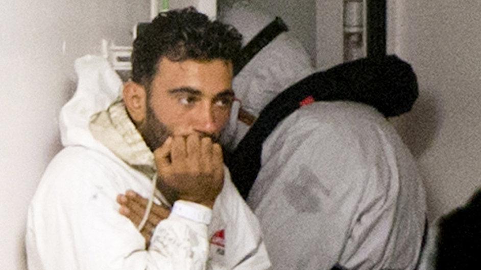 Kapitán ztroskotané lodi s běženci Mohammed Ali Malek