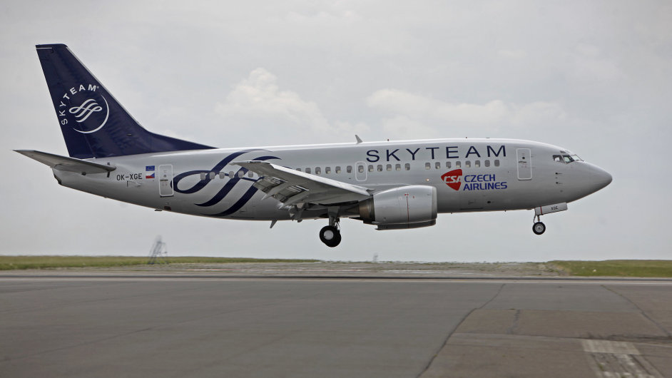 Letoun Boeing 737-500, České aerolinie