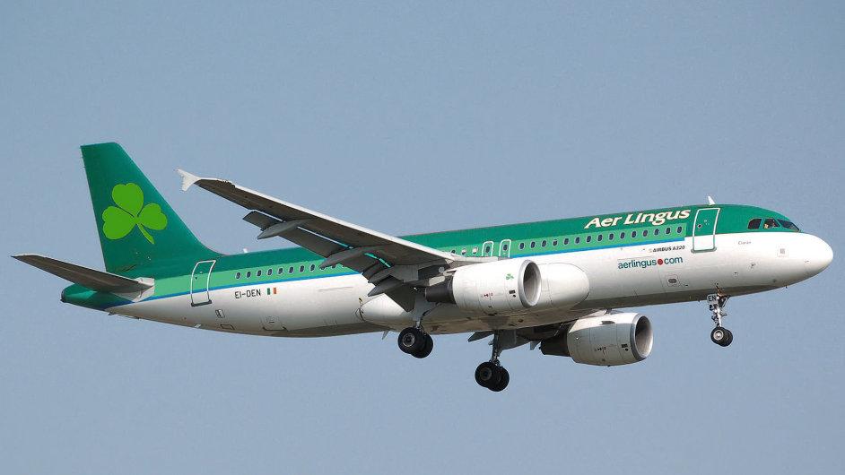 Irského leteckého dopravce Aer Lingus se chystá převzít majitel British Airways skupina AIG.