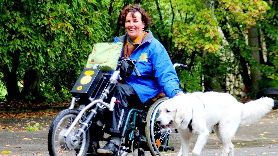 Handicap, asistenční pes