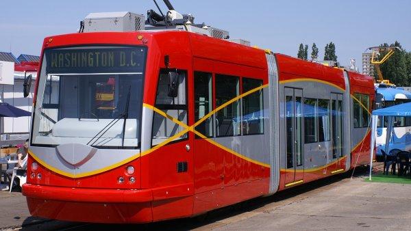 Tramvaj české firmy Inekon Group jezdí ve Washingtonu.