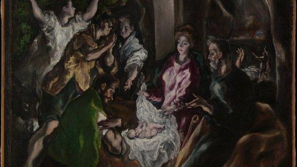 El Greco: Klanění pastýřů, asi 1605-10