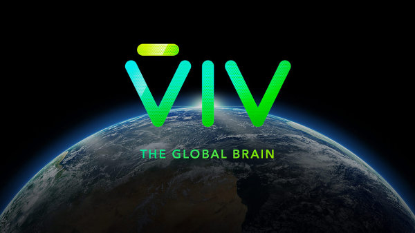 Logo umělé inteligence s názvem VIV