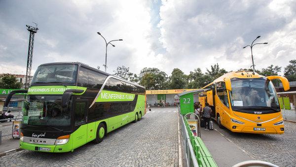 FlixBus konkuruje RegioJetu akčními jízdenkami.