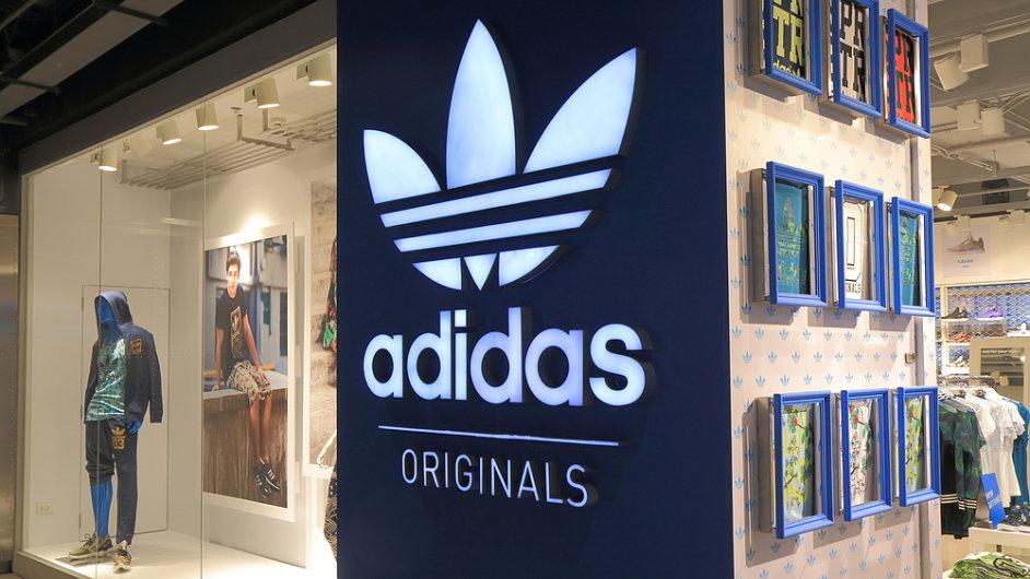 Prodejna Adidas v Bangkoku - Ilustrační foto
