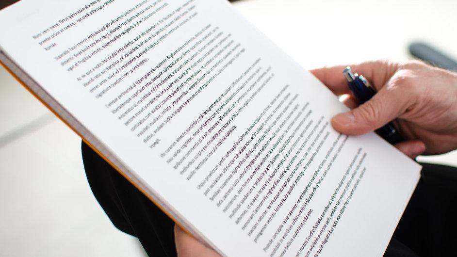 dokument, papír,listina, smlouva, podpis, dohoda