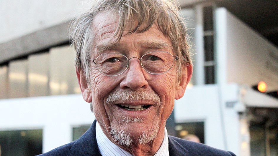 John Hurt at the London premiere of Tinker Tailor Soldier Sp