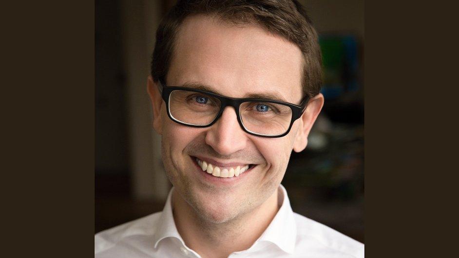 Milan Kníže, viceprezident pro finance společnosti Vodafone