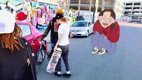 Snímek z nového videoklipu skupiny The Shins.