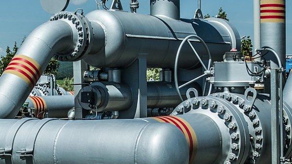 Infrastruktura pro skladování plynu, ilustrační foto