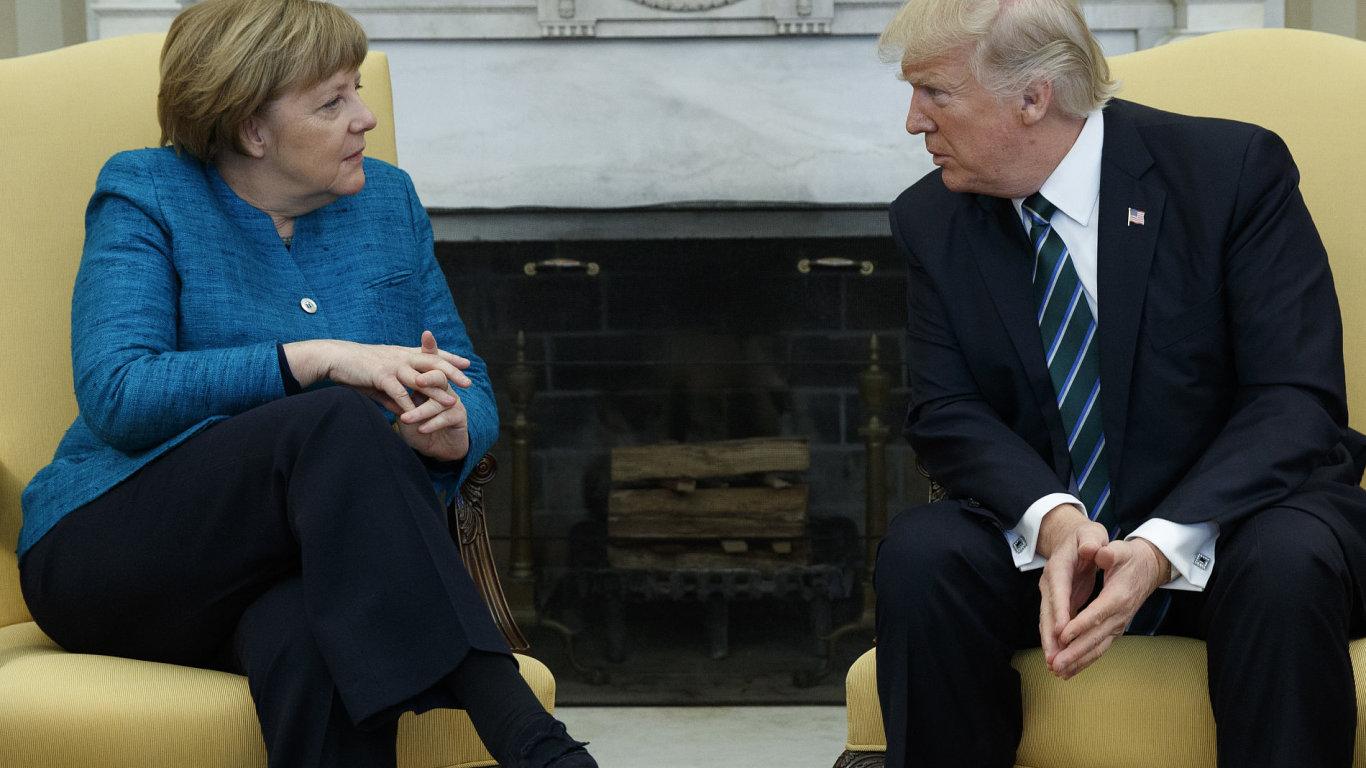 Donald Trump, Angela Merkelová