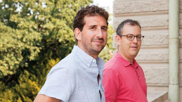 Charles Ornstein a Jesse Eisinger, novináři, držitelé Pulitzerovy ceny