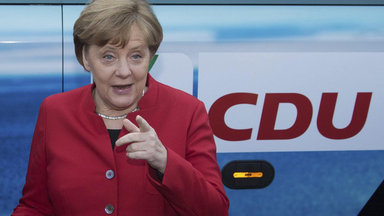 Německá kancléřka Angela Merkelová vyzvala migranty, aby se usídlovali i na venkově.