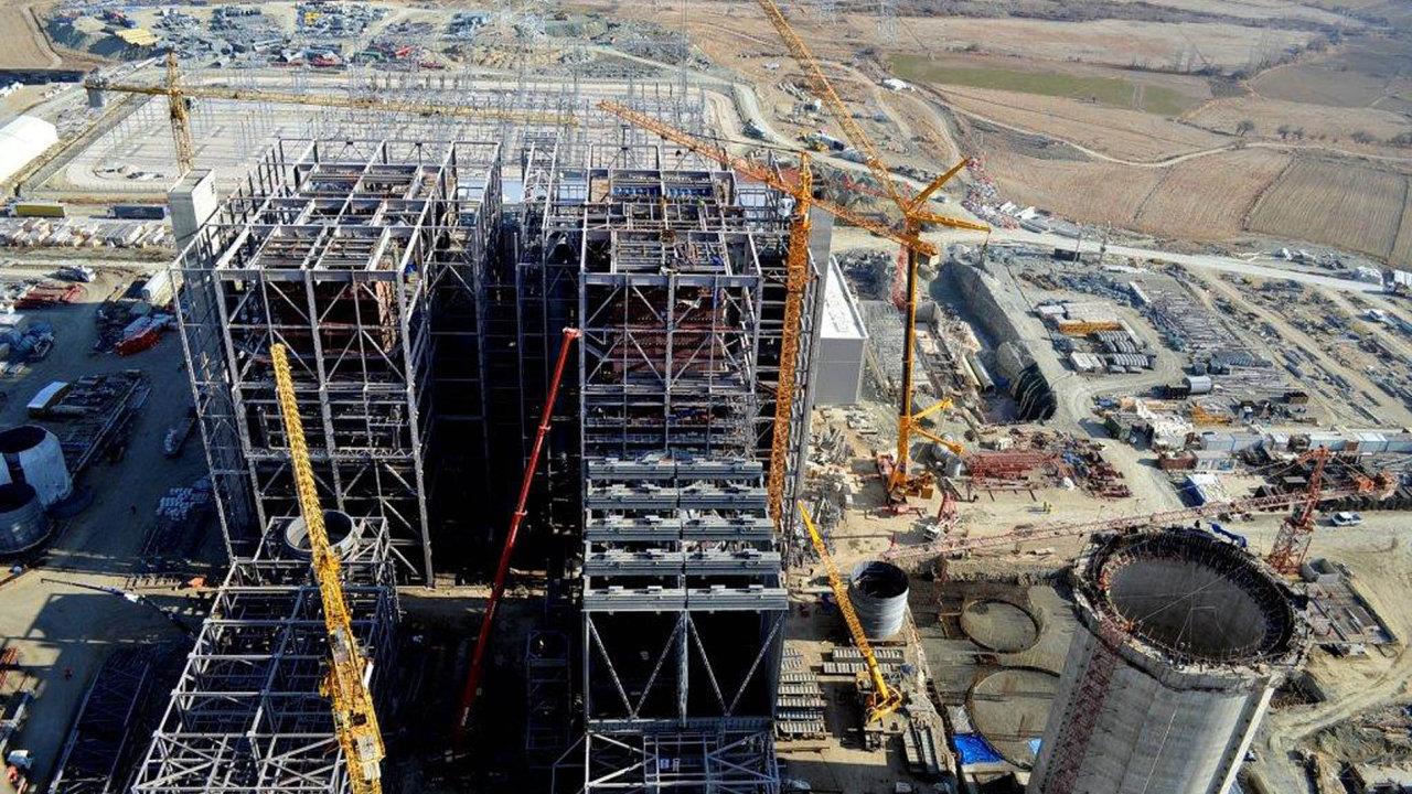 Potíže při stavbě elektrárny Adularya v Turecku za 14 miliard korun (na snímku) jsou jedním z hlavních důvodů, proč firma Vítkovice Power Engineering skončila v úpadku.