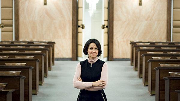 Soudkyně Ústavního soudu Kateřina Šimáčková