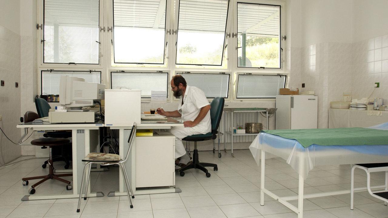 Nemocnice, ordinace. Ilustrační foto.