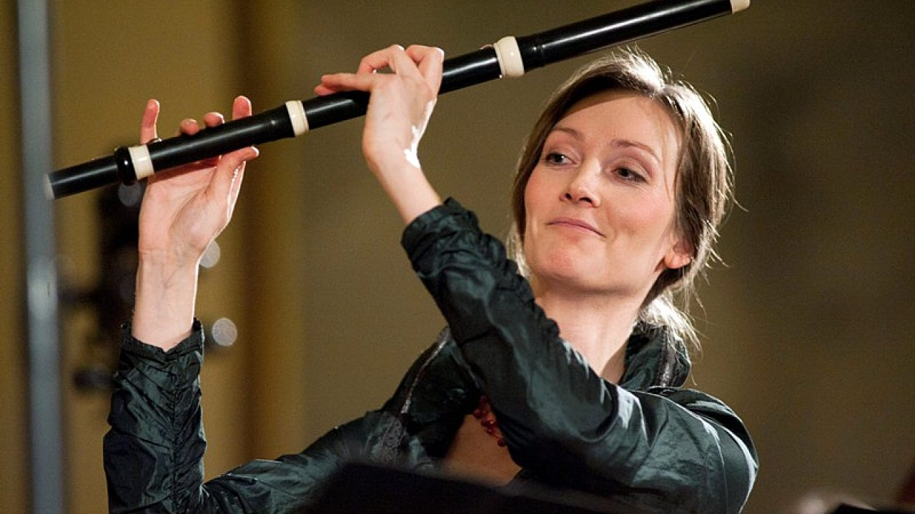 Collegium Marianum vede hráčka na příčnou barokní flétnu a muzikoložka Jana Semerádová.