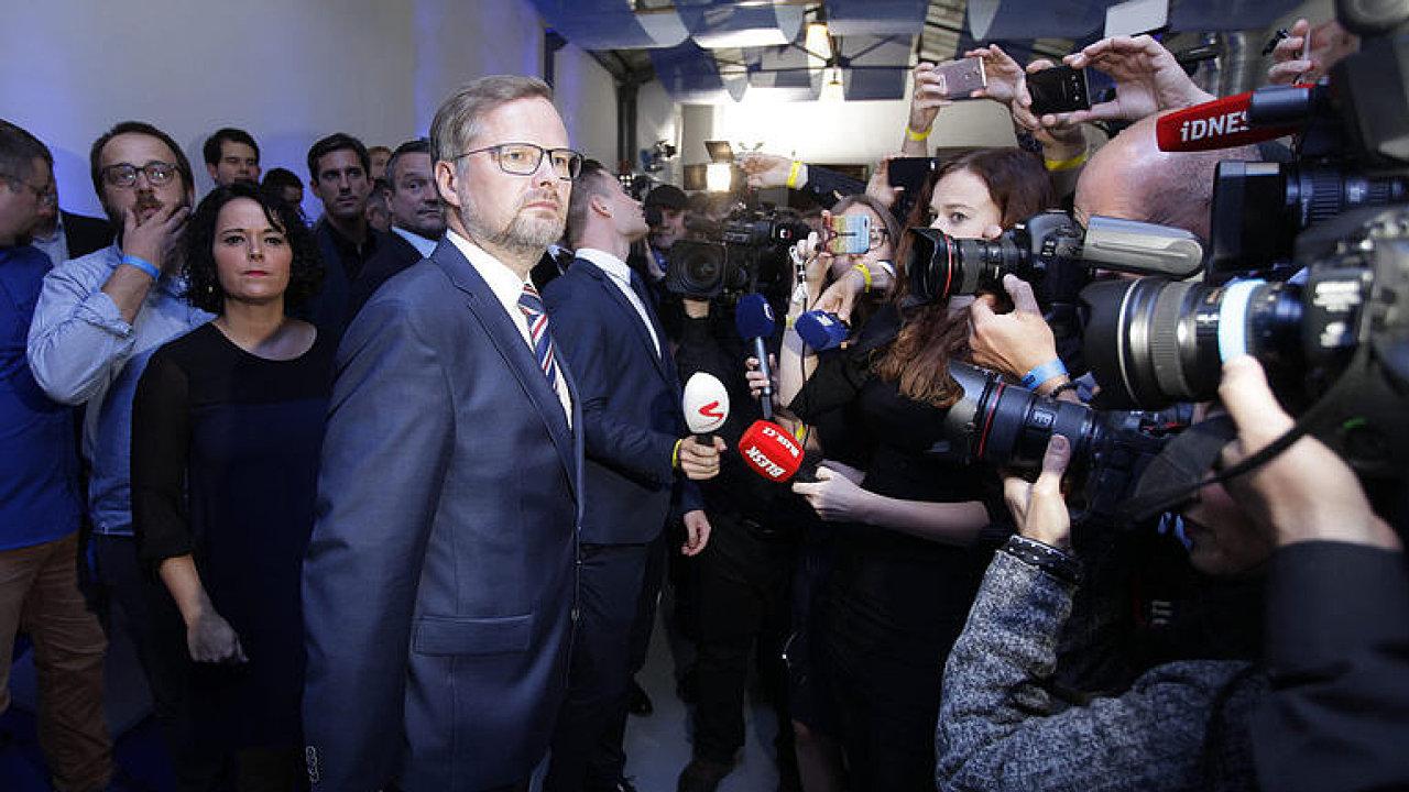 Šéf ODS Fiala: S hnutím ANO jednat nebudeme