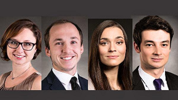 Zuzana Dzilská, Juraj Gazda, Nikola Neumanová a David Plevka, advokátní kancelář bpv BRAUN PARTNERS