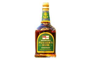 Pětasedmdesát procent alkoholu a bouřlivá chuť britského Pusser's rumu