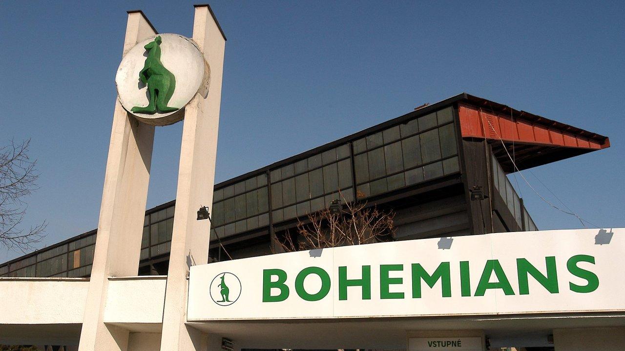 Stadion Bohemians.