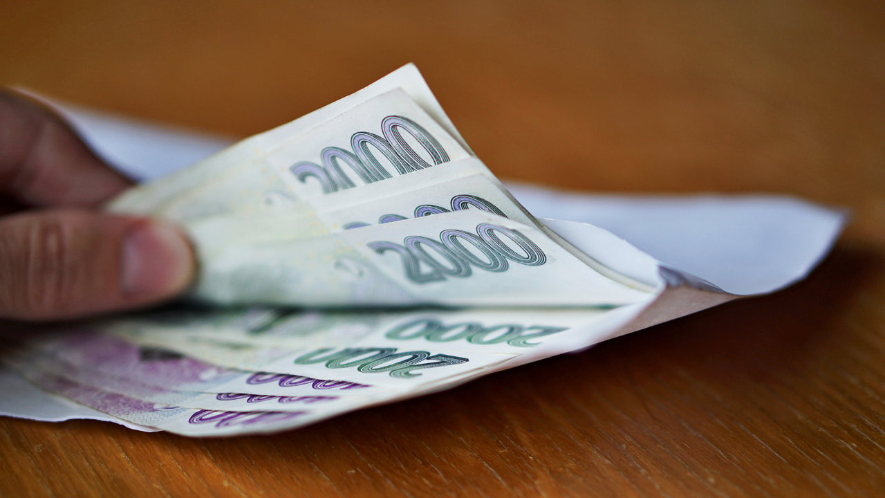 ilustrační fotografie, mzda, plat, výplata